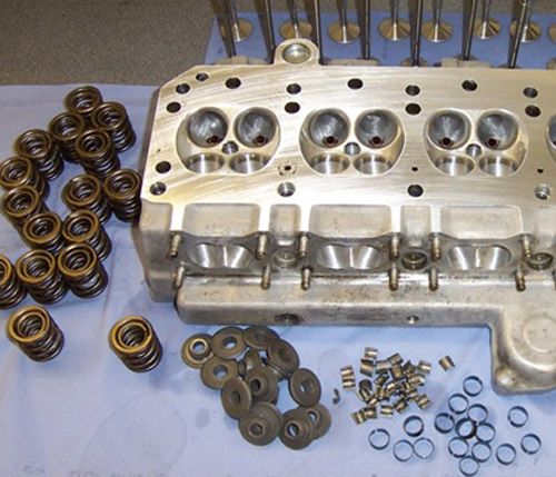 Cylinder Head Welding Rod: Engine Replacement